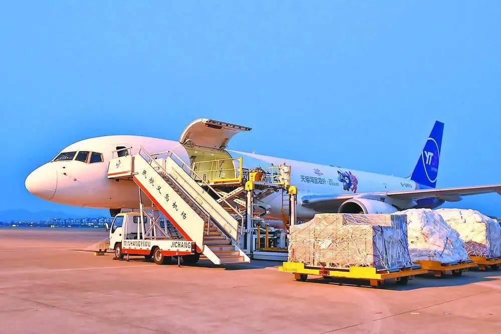 """让""""世界超市""""直达东南亚——童渊航空开通首条""""义乌=马尼拉""""货运航线"""