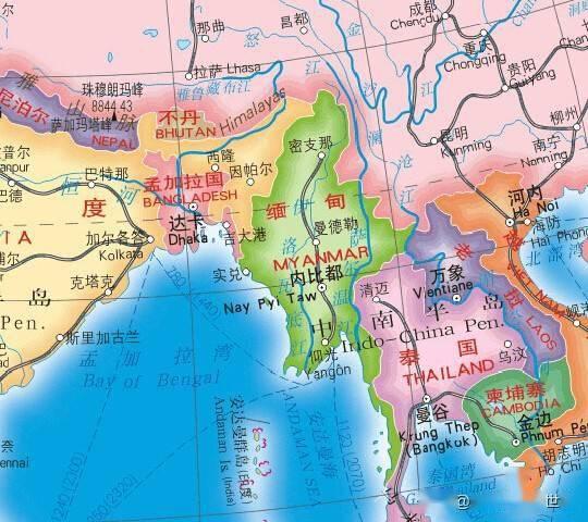 缅甸华人人口_除了中国,哪些国家的华人最多 第1名你肯定猜错了