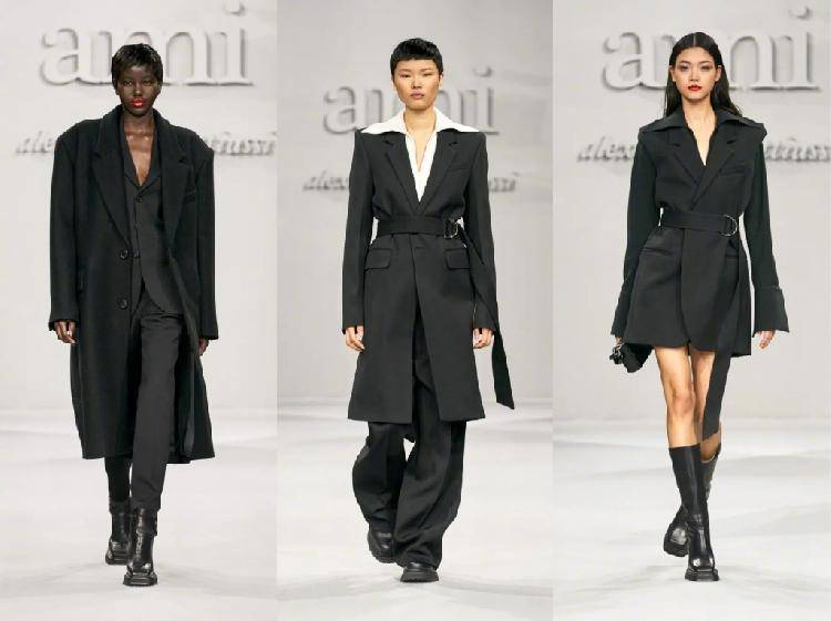 上游时尚|Ami 2021秋冬系列,没什么花俏搭配,就是简洁实穿