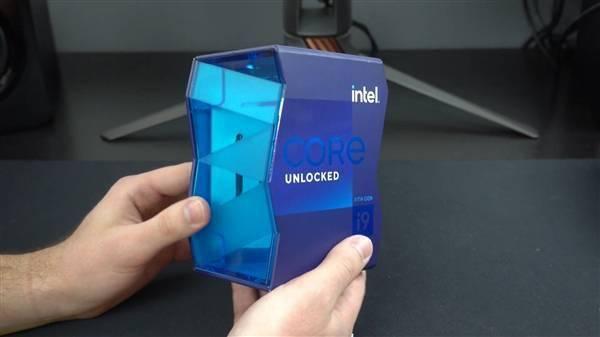 Intel 11代旗舰i9-11900K提前到手!波浪形包装盒吸睛的照片 - 7