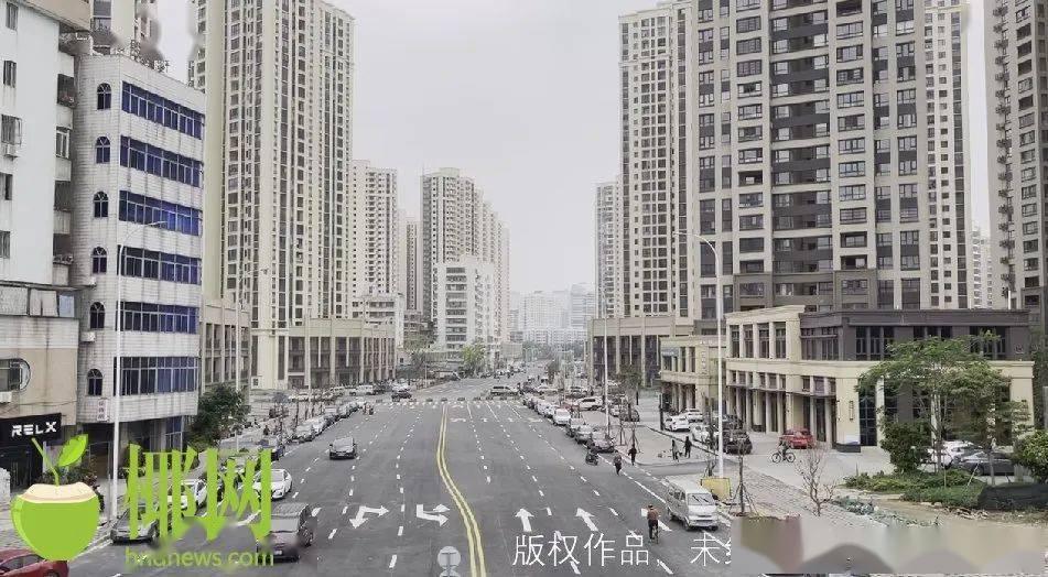 海口这条便民路修了N年,现在可以停车,通车还要等一等!