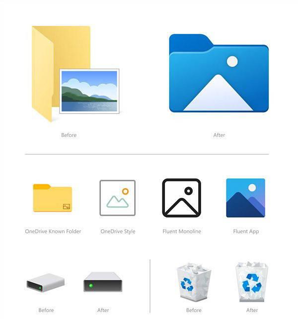 这波设计能赶上苹果吗?Win10全新图标速览的照片 - 5