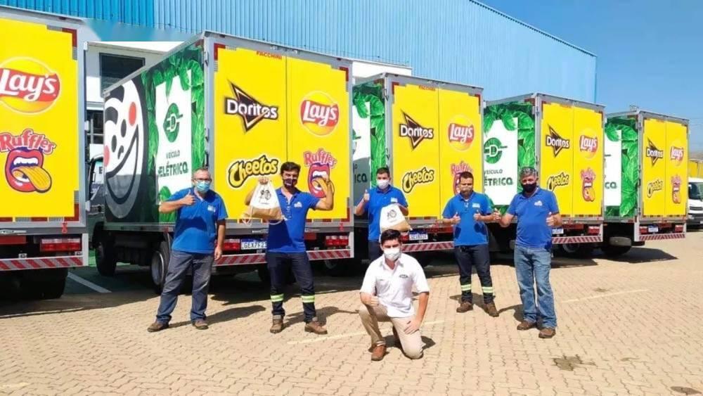 参与绿色物流 JAC电动轻卡交付巴西最大运输公司_合作