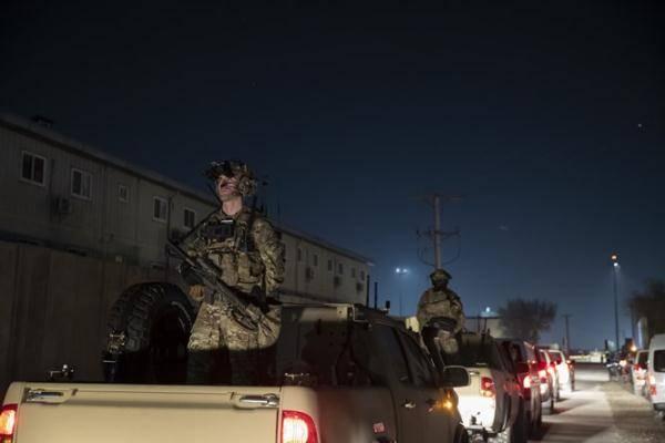 美国驻阿富汗秘密基地遭火箭弹袭击 数人受伤