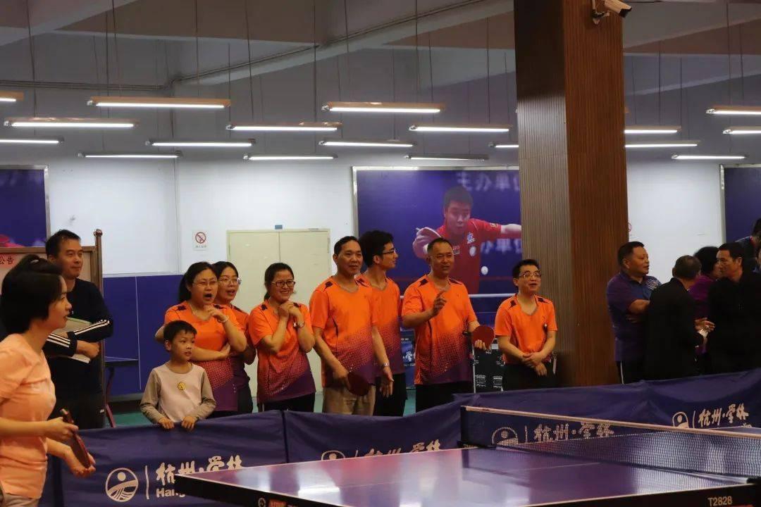 喜迎亚运 乒出精彩——下沙街道第二届乒乓球比赛圆满落幕
