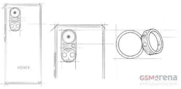 Gsmarena曝光荣耀新机P50草图!或将于5月份推出