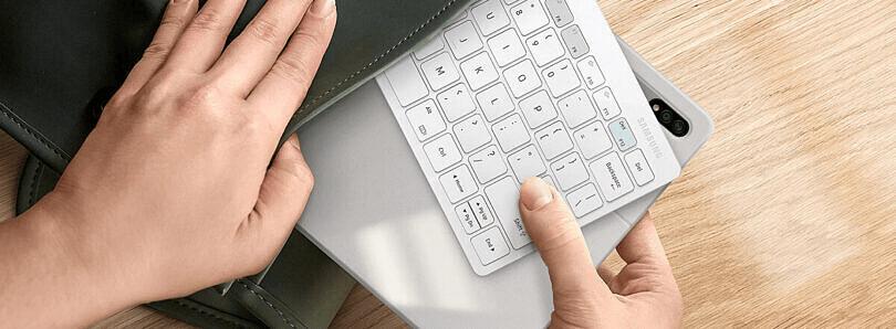 三星专为 DeX推出新款无线键盘:使用蓝牙 5.0,需两节AAA电池
