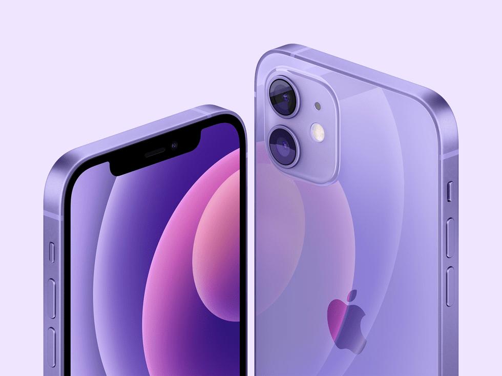 苹果 iPhone 12/mini 紫色版将搭载 iOS 14.5