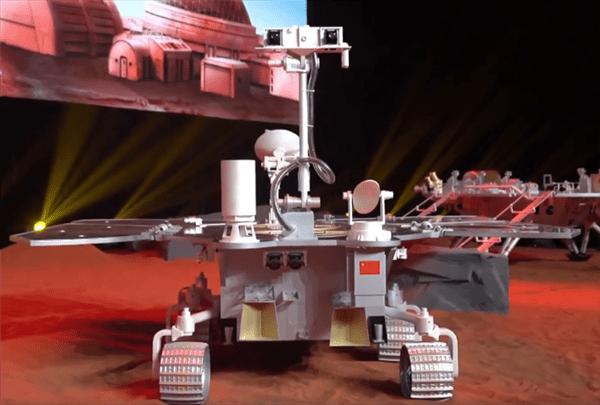 """""""祝融号""""!中国首辆火星车名称正式公布"""
