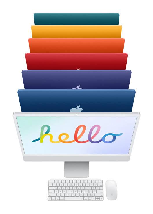 2021苹果春季新品闪耀 多彩iMac 最强iPad Pro 踏春而来