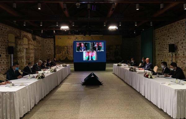 土耳其、阿富汗和巴基斯坦三国外长发表联合声明 呼吁各方重申对和平的承诺