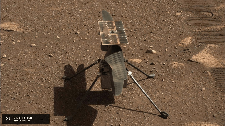 "NASA ""机智号""火星直升机第三次飞行时间确定,将往返约 100 米"
