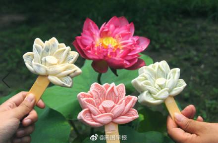 桂林象山景区推出冰激凌文创雪糕