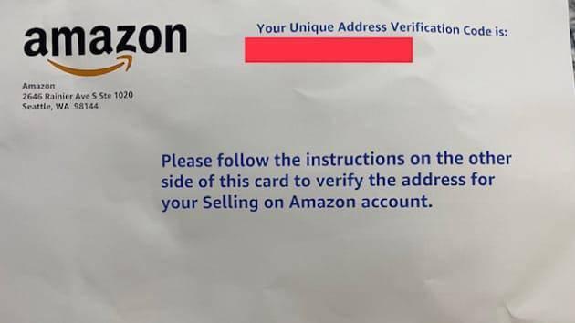 亚马逊提升开店审核难度,大批卖家收到邮寄明信片验证真实地址