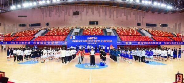 2021年全国U15篮球比赛女子组预赛遵义开幕