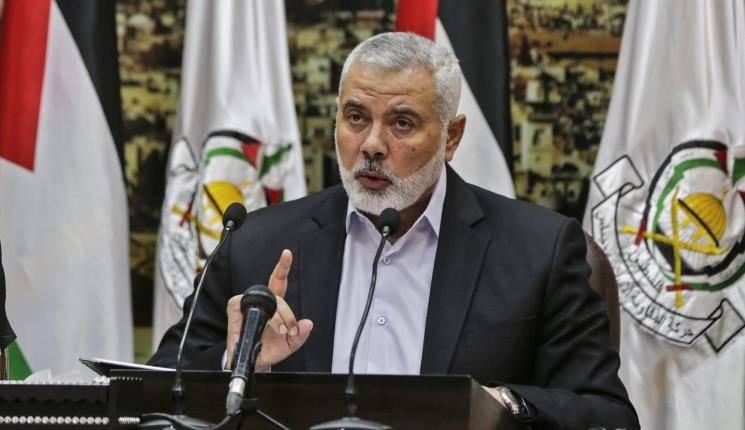 """哈马斯领导人哈尼亚警告以色列不要""""玩火"""""""