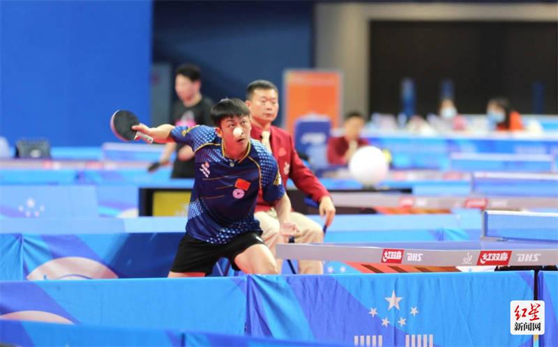 中国大学生乒乓球锦标赛蓉城开拍 高新体育中心惊艳首秀