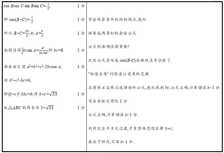 """这样答题才能得分:2021高考数学""""阅卷评分细则""""与""""规范答题模板"""""""