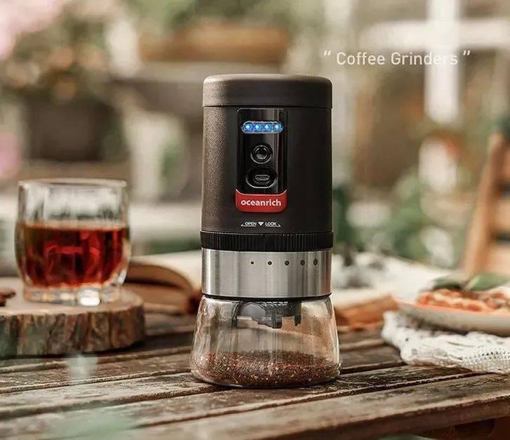 """好咖啡是""""磨""""出来的,智能便携式磨豆机,轻松实现咖啡自由!"""