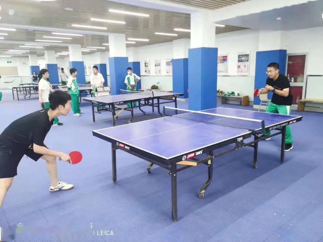 弘扬国球精神 喜迎建党百年——中央民大附中举办学生乒乓球比赛