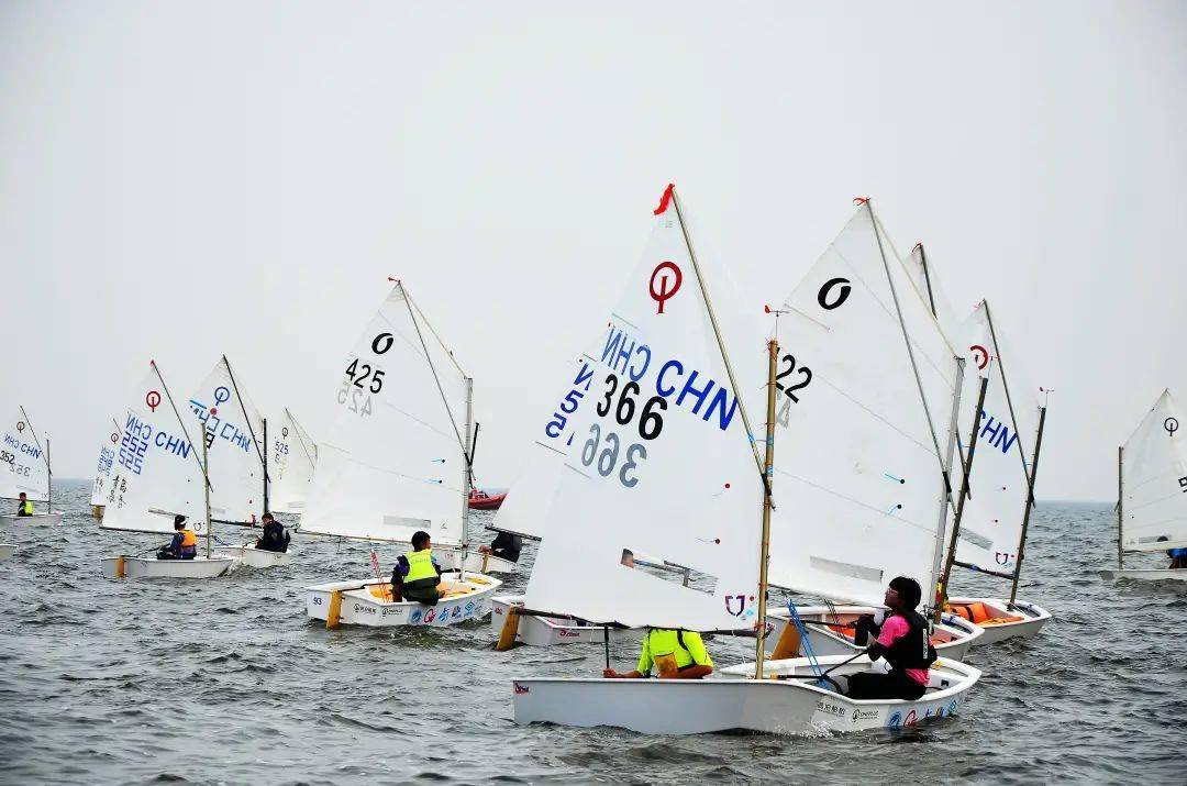 2021年山东省帆船帆板锦标赛在滨海区扬帆开赛
