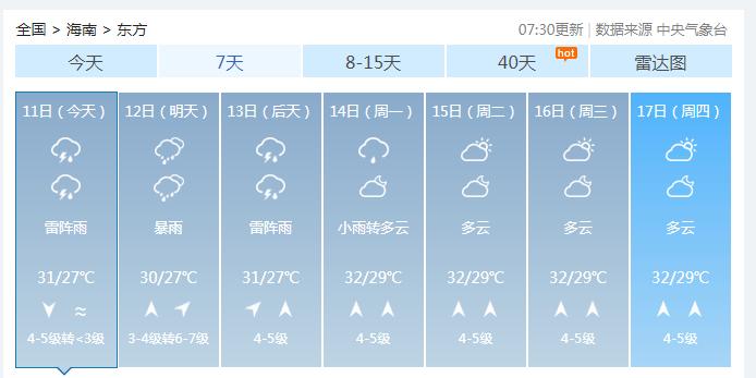 """注意!南海""""土台风""""开始酝酿!或登陆海南!端午假期要""""泡汤""""……"""