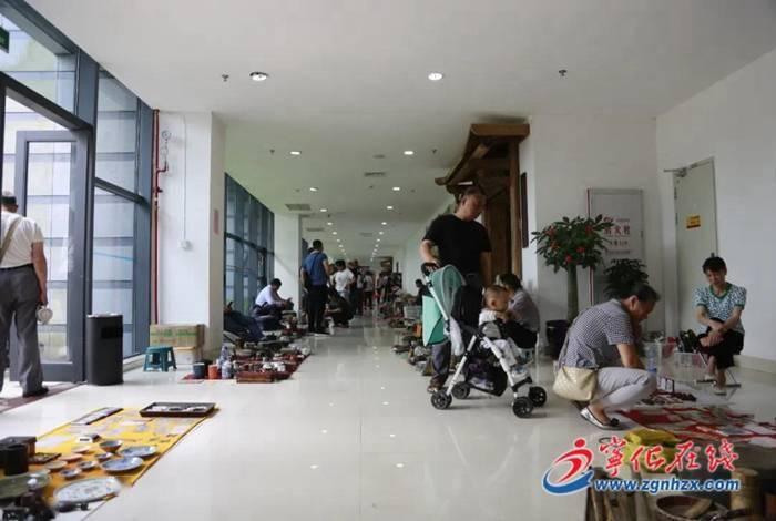 宁化客家古玩文化城举办古玩艺术品交流会