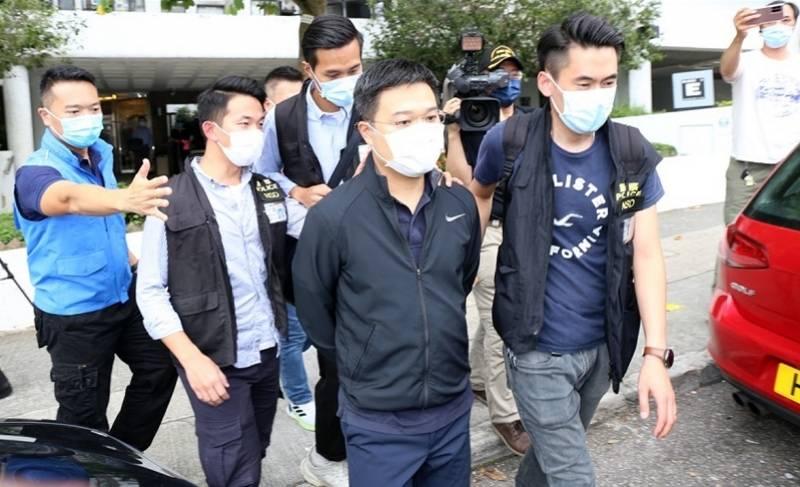 驻港国安公署:坚决支持香港警方对苹果日报等采取的执法行动