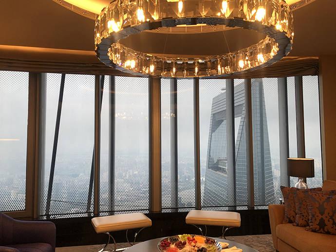 全球最高酒店在上海开业!