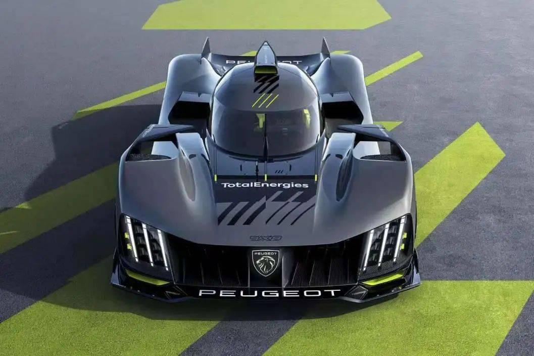 全新标致9X8超级跑车,为赛场而生!8dn