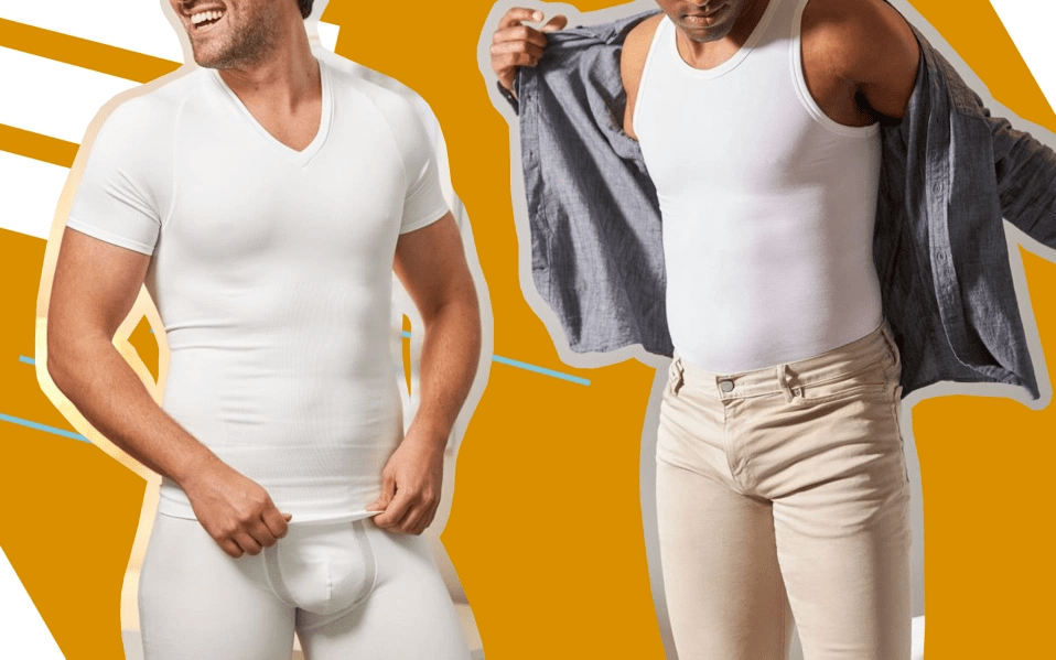 """早在2010年,美国知名塑身衣品牌 Spanx就推出了男士产品线,已经基本达到了""""妇男皆知""""的水平。Spanx的男士塑身衣产品从高腰式、一体型、束腰式、提臀型一应俱全,满足男性在各种场合的需求。"""