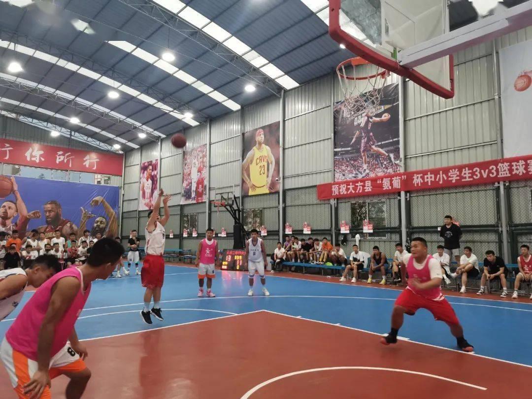 """大方县""""氨葡杯""""篮球比赛落下帷幕"""