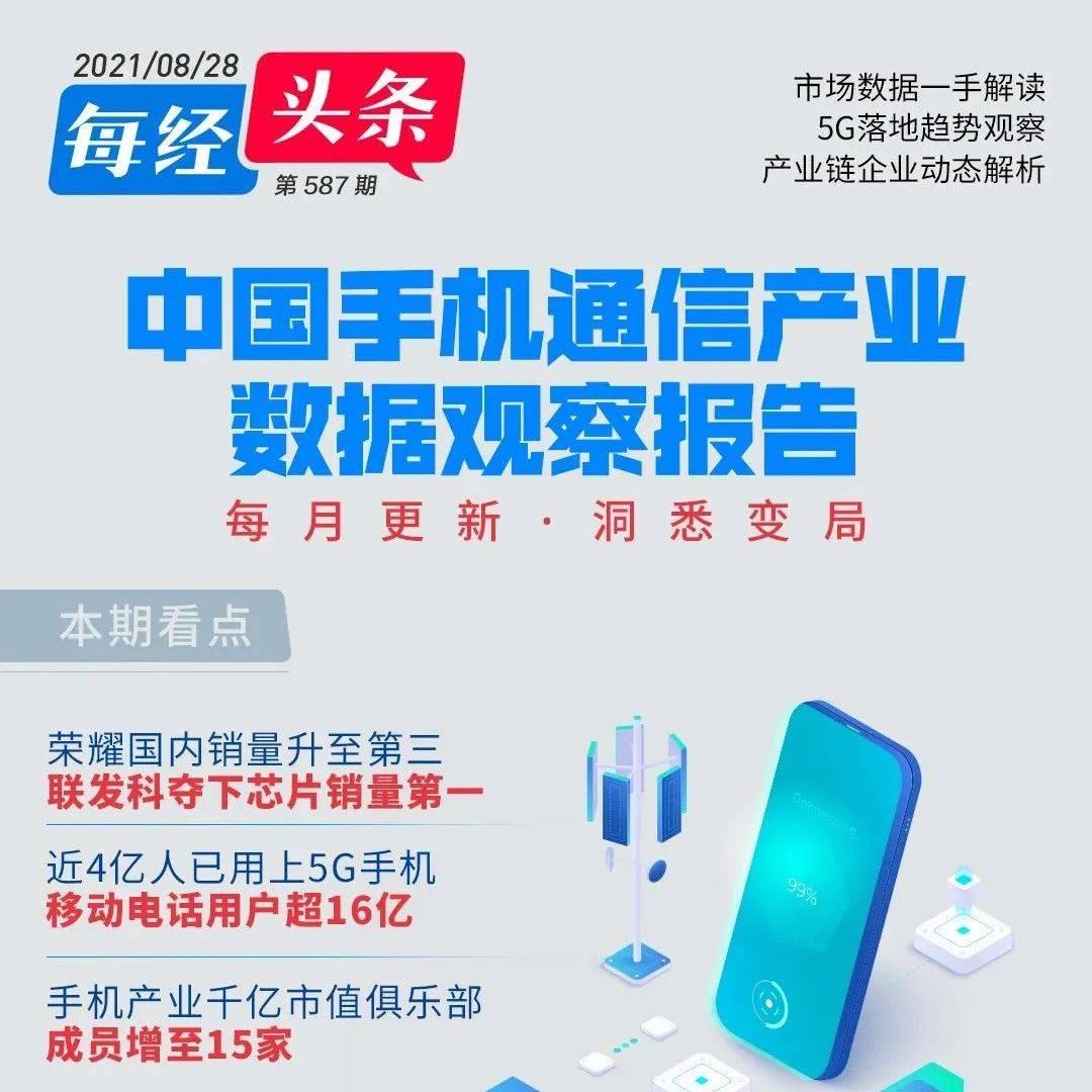 CINNO Research:7月中国市场手机荣耀销量超小米/苹果,跃居第三