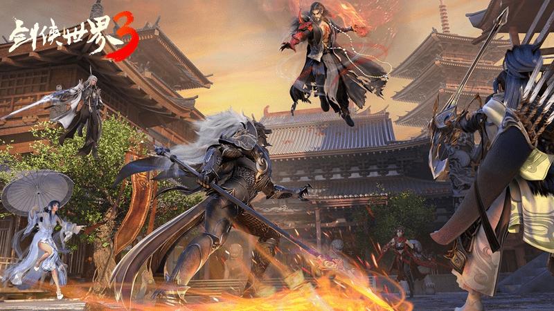剑侠热血回归(《剑侠世界3》iOS测试9月即将来袭)