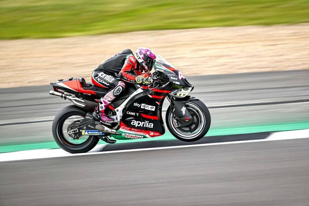 MotoGP 2021 英国站:阿普利亚首次登上颁奖台