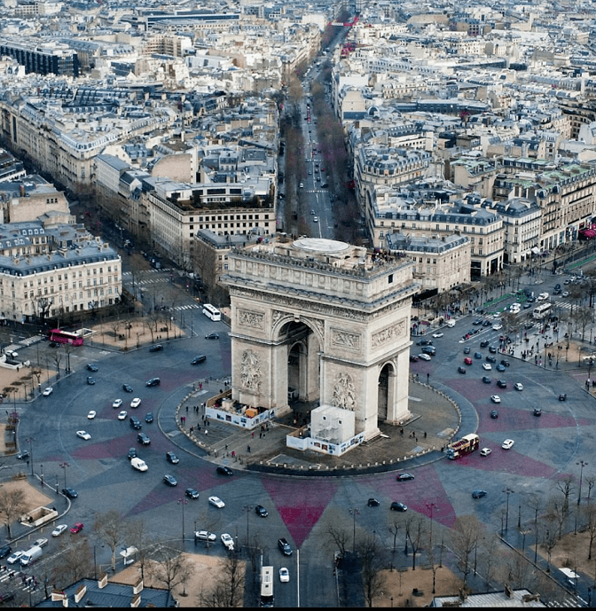 克里斯托巴黎遗梦,包裹凯旋门意味着什么?