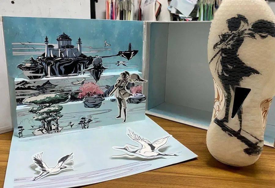 「仙剑奇侠传」联名鞋曝光!只看包装就想买!网友:爷青回!