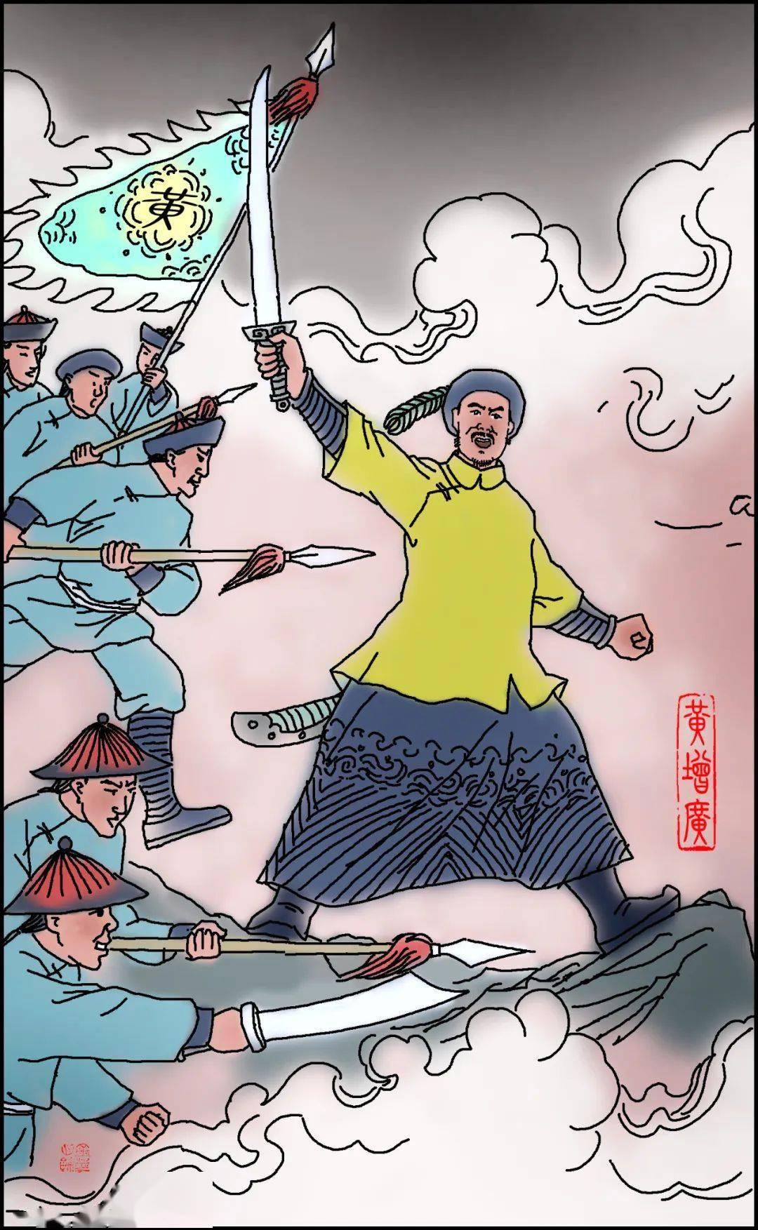 连州历代先贤故事,黄增广:助收城池十数座