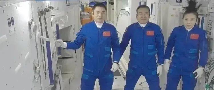 """第二批客人来了! 新""""太空出差三人组""""成功进驻!"""